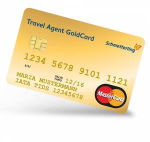 Travel Agent Cards - GoldCard