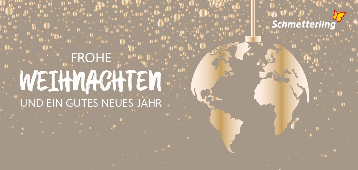 vor9-Header: Schmetterling Weihnachtsgrüße 2019