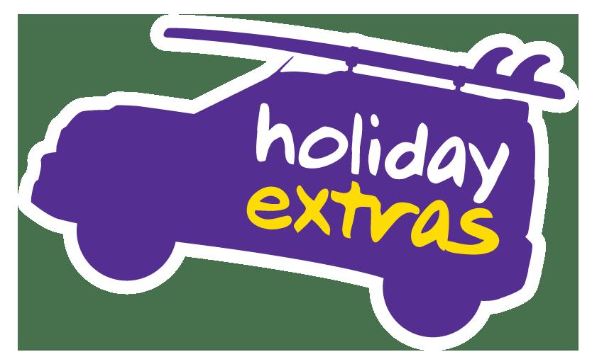 vor9-Beitrag: Holiday Extras Logo Car