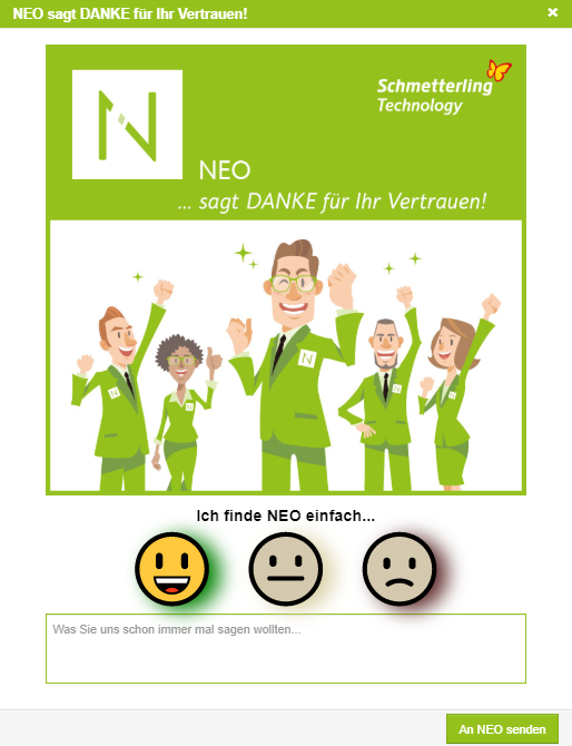 vor9-Bild: NEO-Umfrage