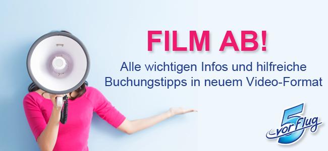 5vorFlug: Film ab!