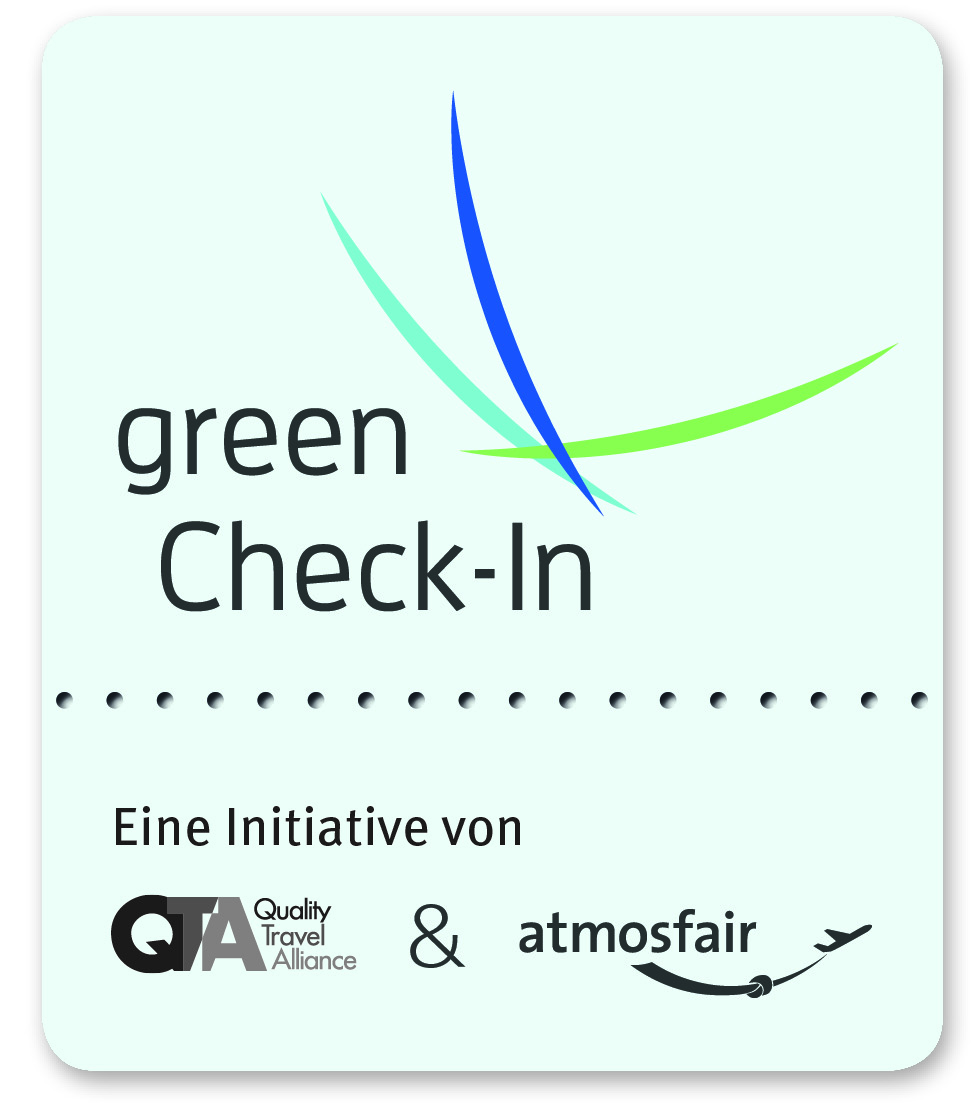 Mailing: green Check-In Logo