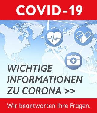 Wichtige Informationen zu Corona