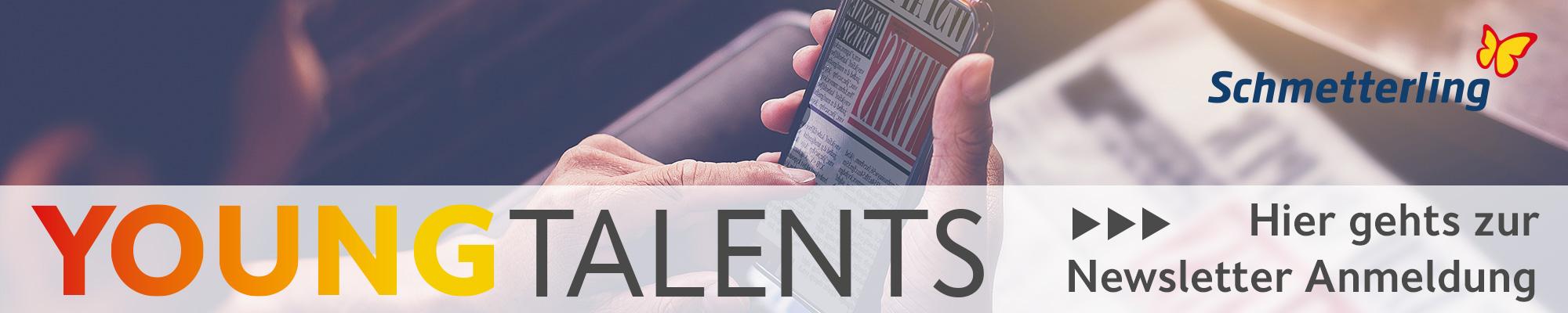 Zur YoungTalents Newsletter Anmeldung